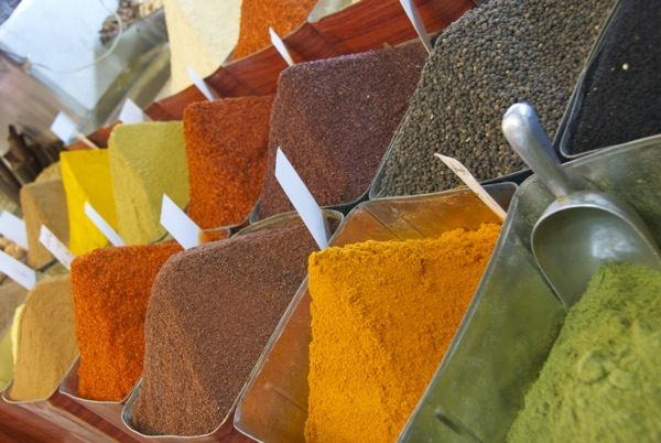 you wish you could smell these spices!! From Damascus, Syria, in one of the best, biggest and most fun souks in the world.