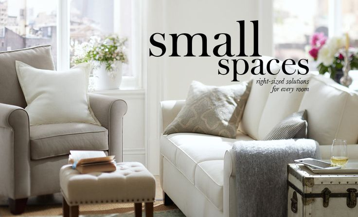 decor for small spaces pottery barn home pinterest