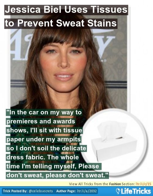 How to Prevent Sweat Stains