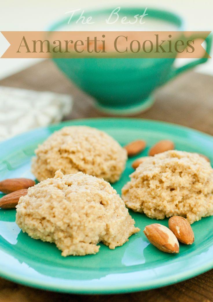 Amaretti+Cookies:+The+BEST+recipe   Italian Style!   Pinterest