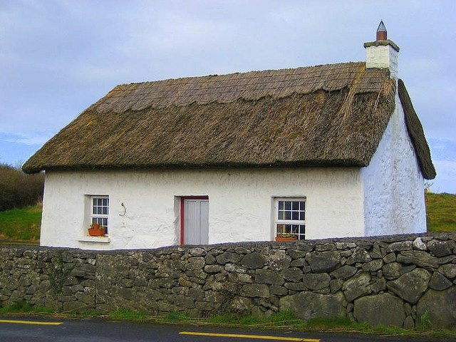 Traditional irish thatched roof house architecture pinterest - Traditional houses attic ...