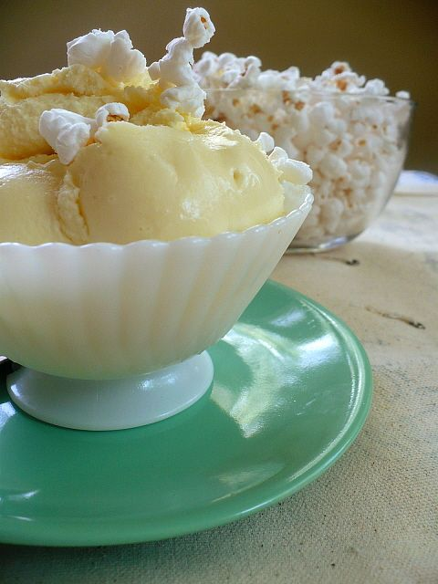 Buttered Popcorn Ice Cream - had popcorn ice cream at Trenchermen last ...