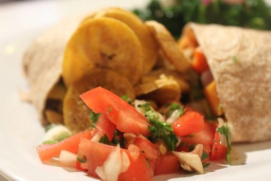 Meal from Food Heaven Made Easy: Black Bean & Sweet Potato Burrito ...