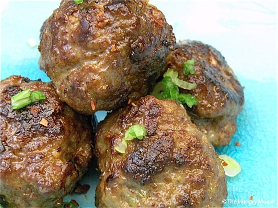 Sizzling Hot & Spicy Meatballs - with ground beef and Italian sausage ...
