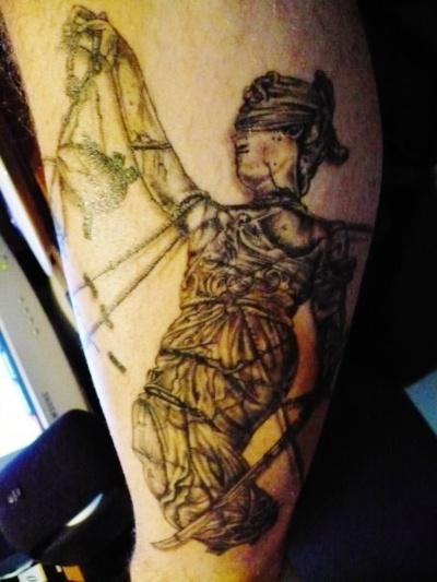 lady justice tattoo inspiration pinterest. Black Bedroom Furniture Sets. Home Design Ideas