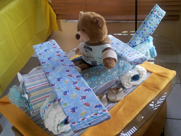 Baby Shower Diaper Airplane Diy And Craft Pinterest