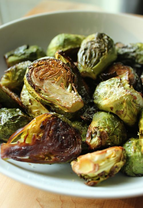 Roasted Brussels Sprouts | I'd eat it... | Pinterest