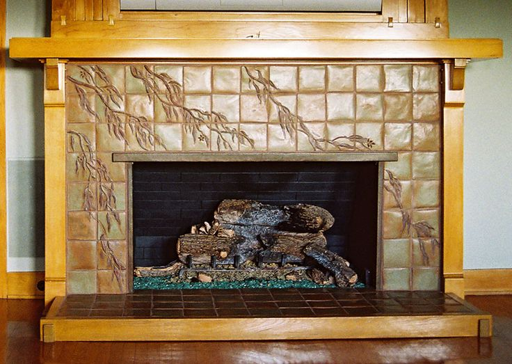 Pinterest for Craftsman fireplaces photos