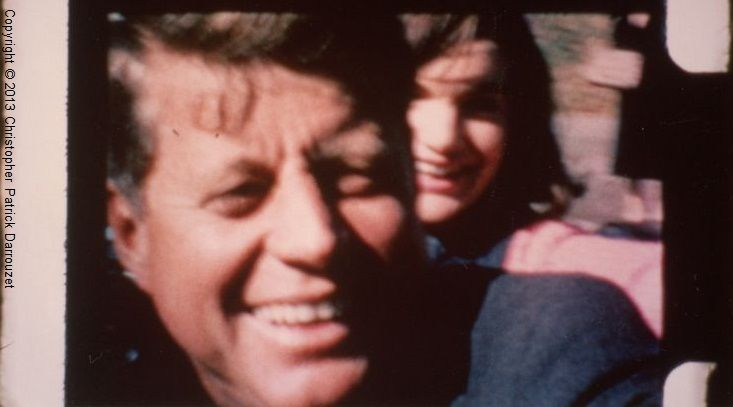 JFK and Mrs Kennedy close up - CPD copyright