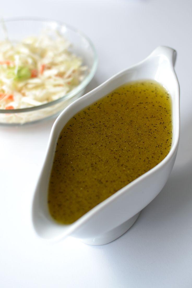 Honey Poppy Seed Vinaigrette #sponsored | Salad dressings | Pinterest