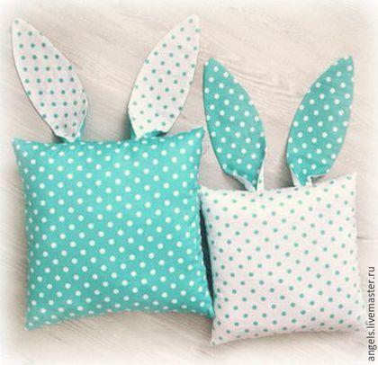 Подушка с ушками своими руками