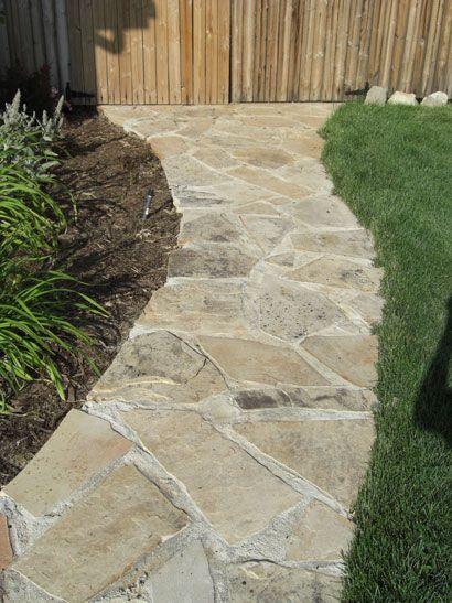 Country backyard landscaping ideas - Flagstone Walkways Flagstone Walkway Flagstone Paths Amp Walkways