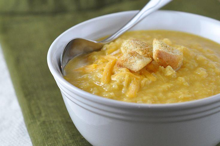 Creamy Cauliflower Cheddar Soup   Recipe