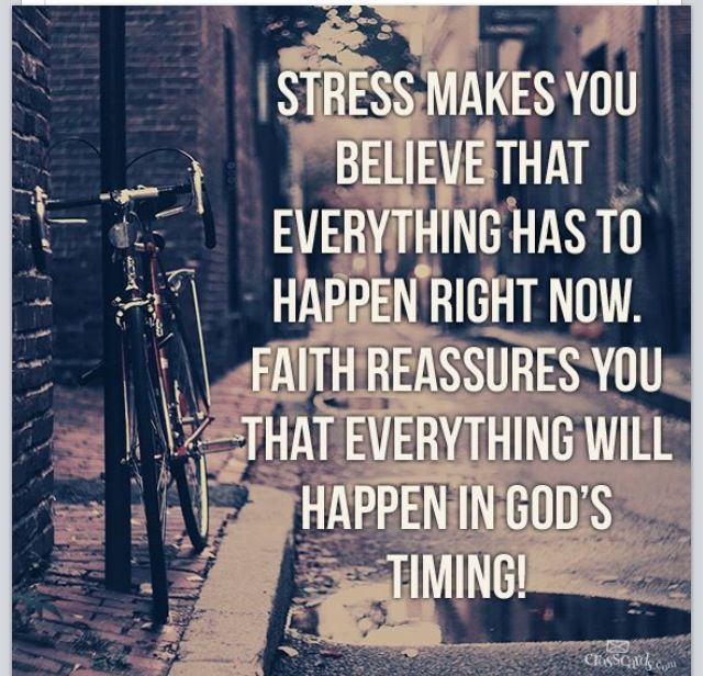 love this! Stress Free, Daily Reminder, Remember This, God Is, God Time, Deep Breath, True Stories, Keep The Faith, Best...