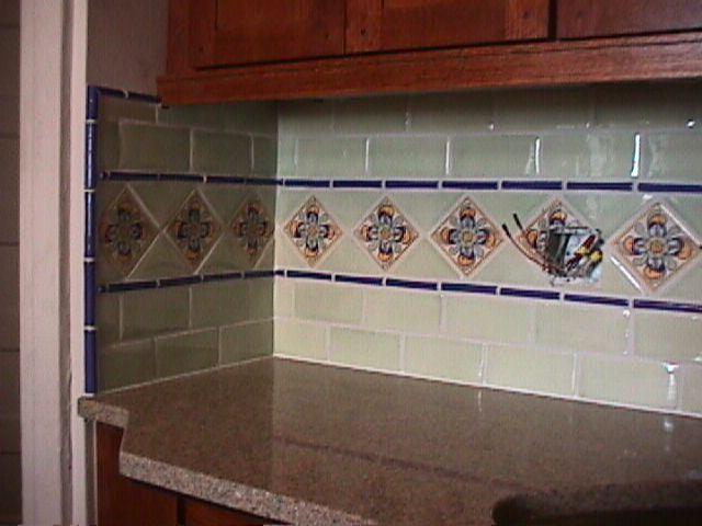 spanish tile backsplash for my future home pinterest