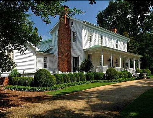 A White Farmhouse in Georgia & More Houses For Sale