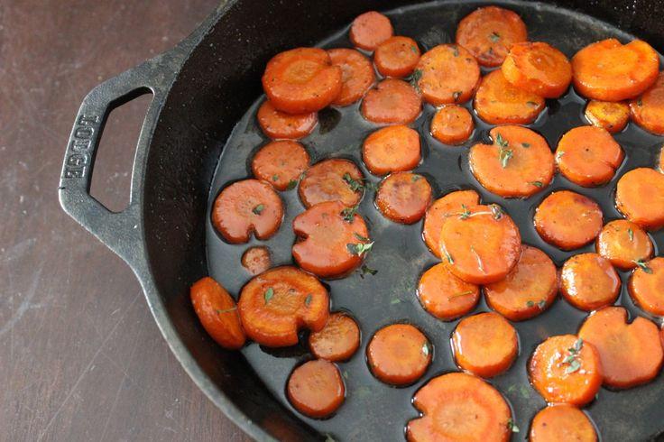 Whiskey Glazed Carrots #carrotweek #recipe #TexanNewYorker