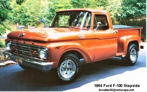 ford f 100 stepside ford pinterest. Black Bedroom Furniture Sets. Home Design Ideas
