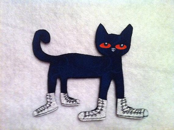 Maybe an idea to make myself? Pete the Cat: I Love My White Shoes
