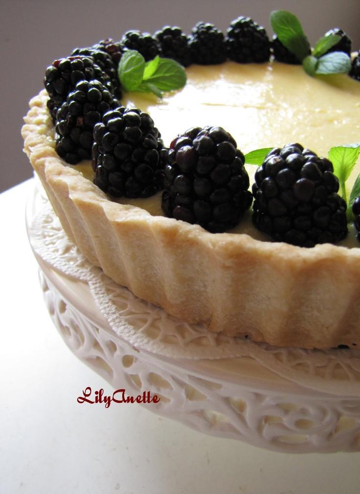 Lemon Curd Tart Nice Easter dessert! | Yummy Food and Pretty Party De ...