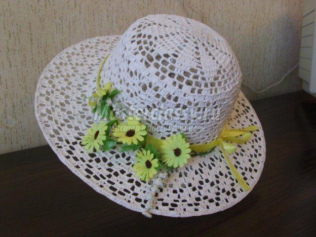 Вязание шляпок крючком