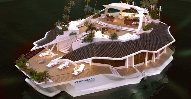 Meet the $4.6 million floating home of your post-lottery dreams