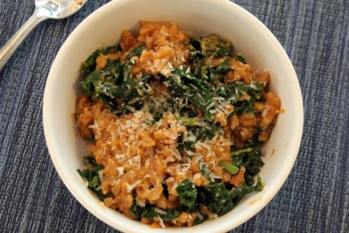 ... Farroto. Farro is an instant favorite! Healthy risotto alternative