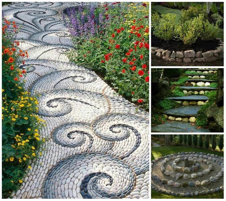 Camino de piedra plantas y jard n pinterest - Camino de piedras para jardin ...