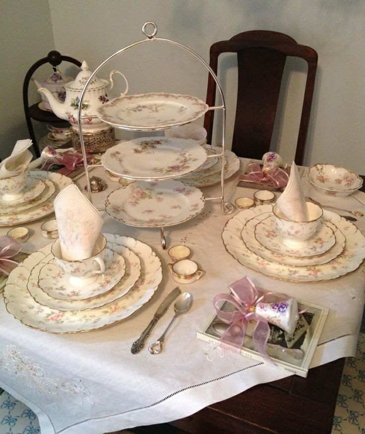 tea table settings tables - photo #1
