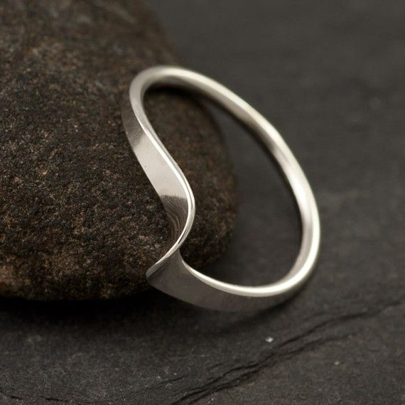 handmade sterling silver ring simple silver ring
