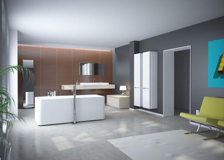 Badkamer Ladekast : Clou - Wash Me badkamer concept met badmengkraan ...