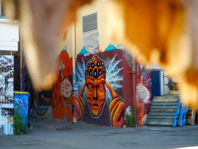 Mind Freak Graffiti in Wellington, New Zealand. Travel. Street Art.