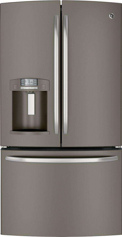 GE refrigerator in Slate finish  Slate  Pinterest