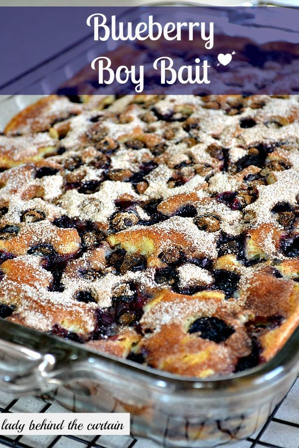 Blueberry Boy Bait (Blueberry Coffee Cake) | Recipe