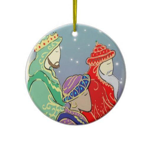 Custom Three Kings Ornament