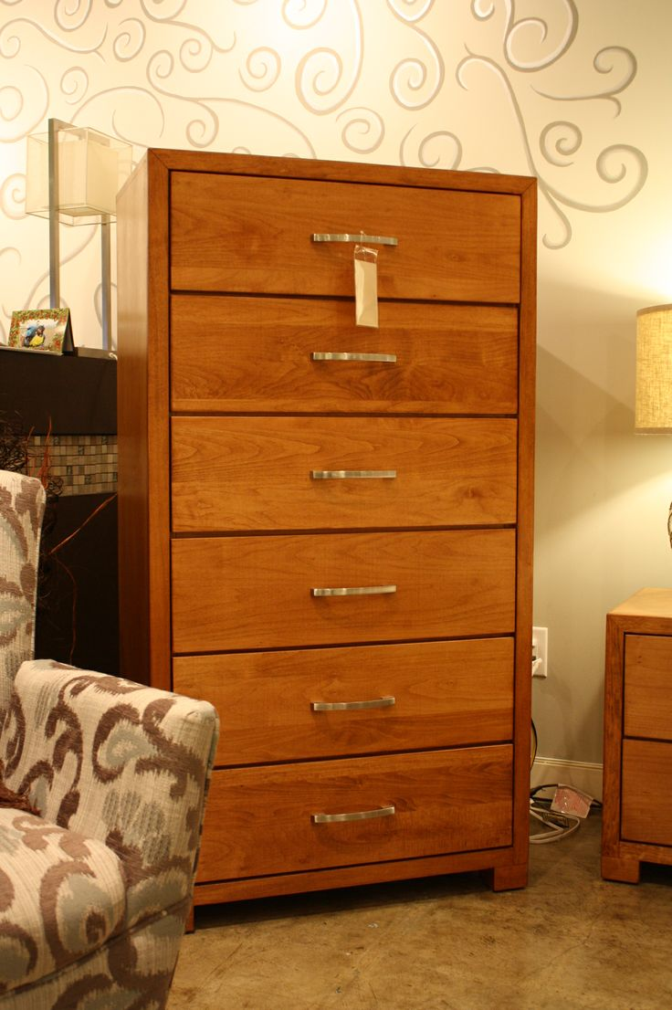 5dr Maple Chest Sierra Brown Stain Solid Wood Bedroom Furniture Pinterest