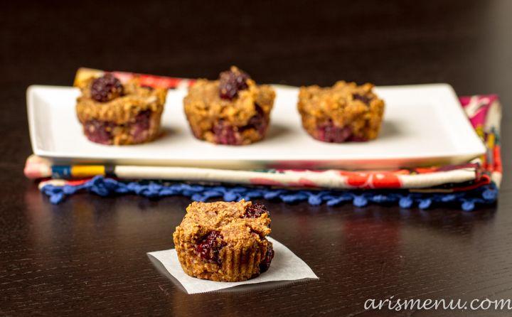 Blackberry Almond Meal Muffins | Recipe