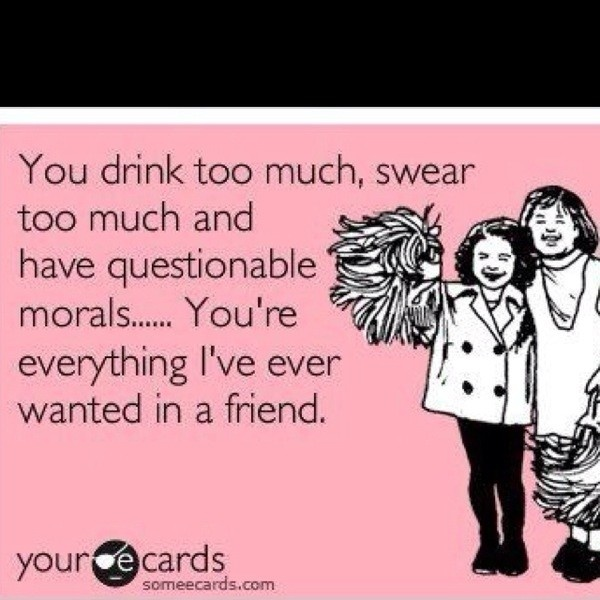 Funny Quotes For Drunk Friends : Drinking with friends funny quotes quotesgram