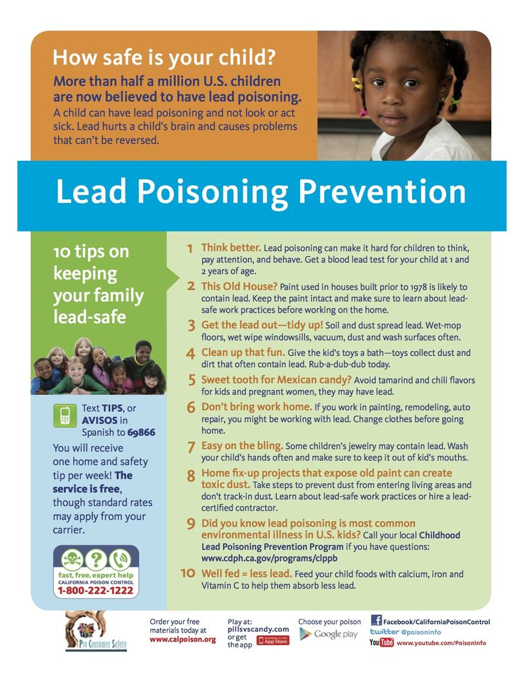 Lead Poisoning Effects