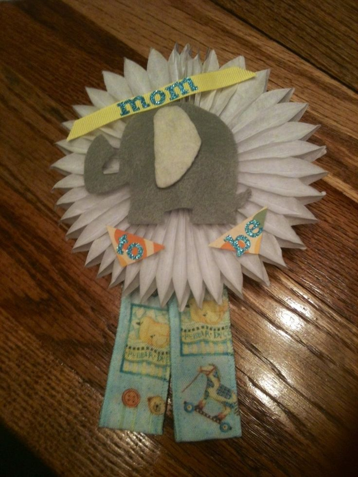 DIY Elephant Baby Shower Decorations 736 x 981