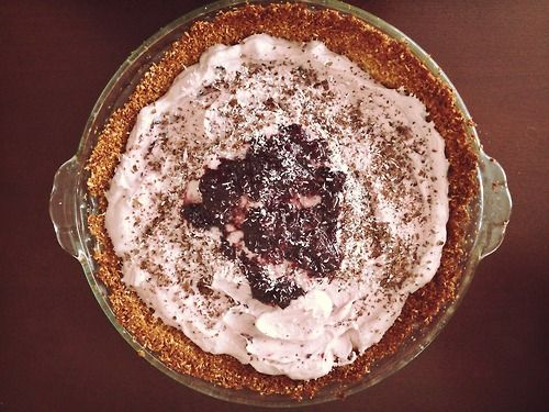 Cherry Coconut Macaroon Pie Adapted from this original recipe for mini ...