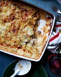 Golden Potato and Porcini Gratin - Richard Betts, Food and Wine