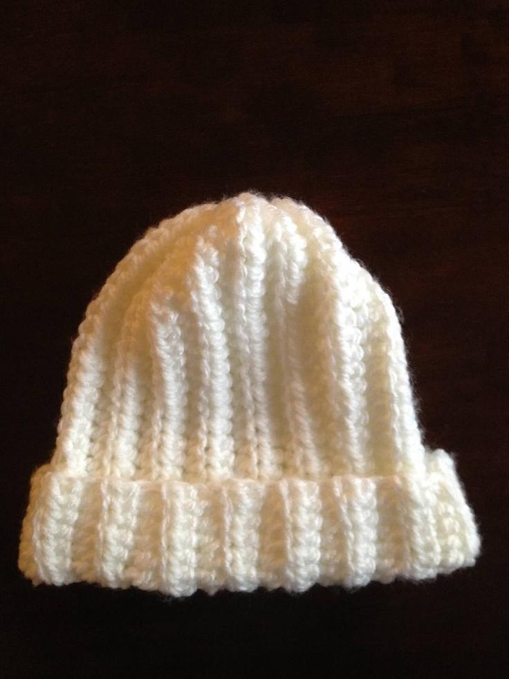 Crochet Rib Stitch : Crochet hat. Rib stitch Yarn crafts Pinterest