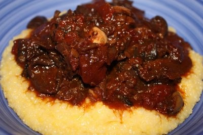 Mushroom Ragu over Soft Polenta   Sides and Snacks to Sample   Pinter ...