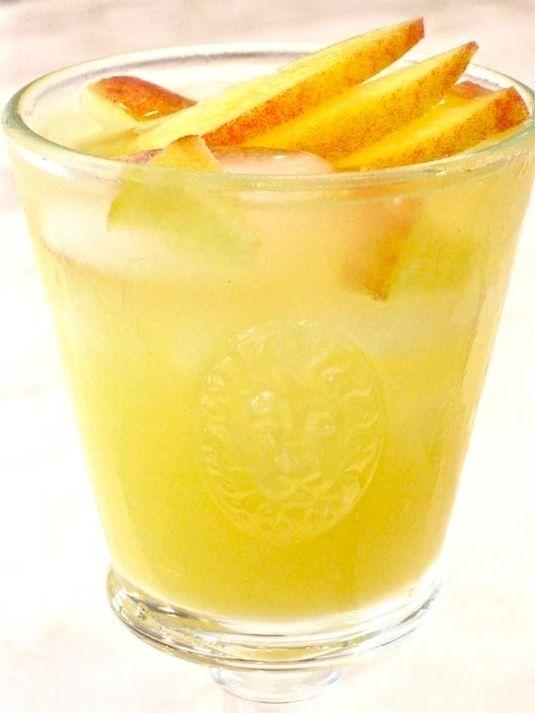 Summer Recipe: The Bitter Peach Bellini   Drink Wishlist   Pinterest