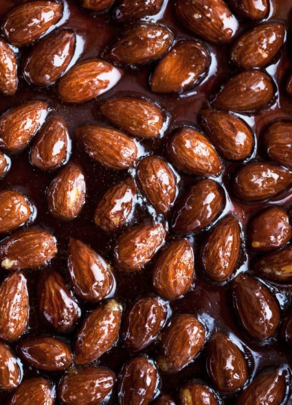 Candied Almonds | A Pinch of this and that.. | Pinterest