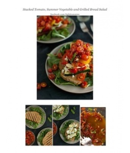 tomato summer salad grilled vegetable salad grilled vegetable salad ...