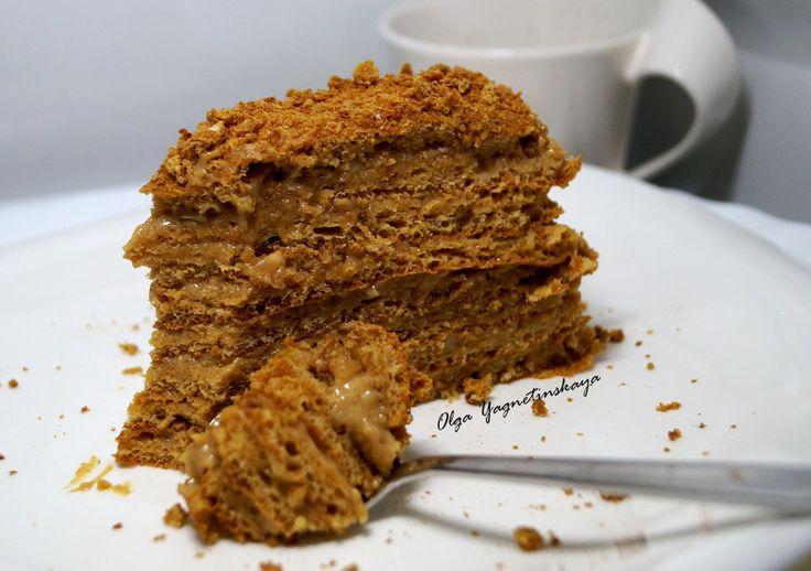 Диетический медовый торт рецепт