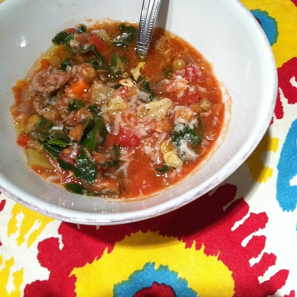 ... serve the soup as lentil soup with sausage and kale recipe yummly