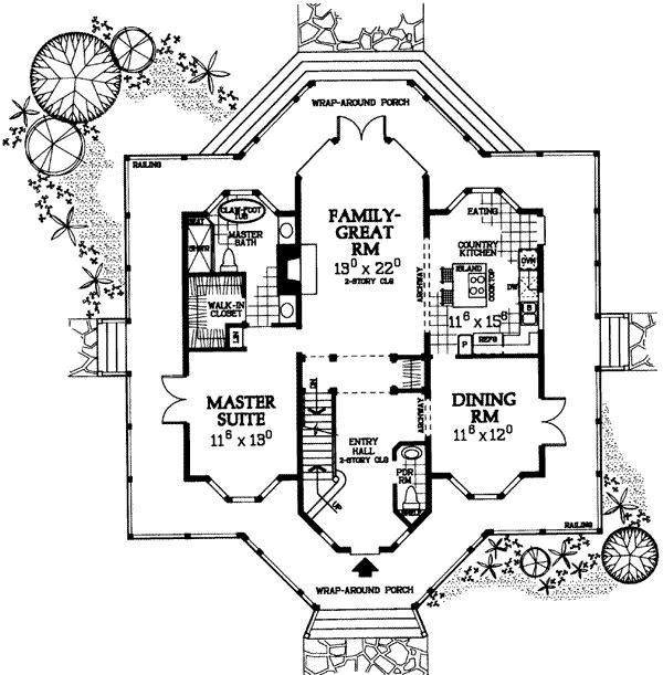 victorian style floor plan dream house pinterest